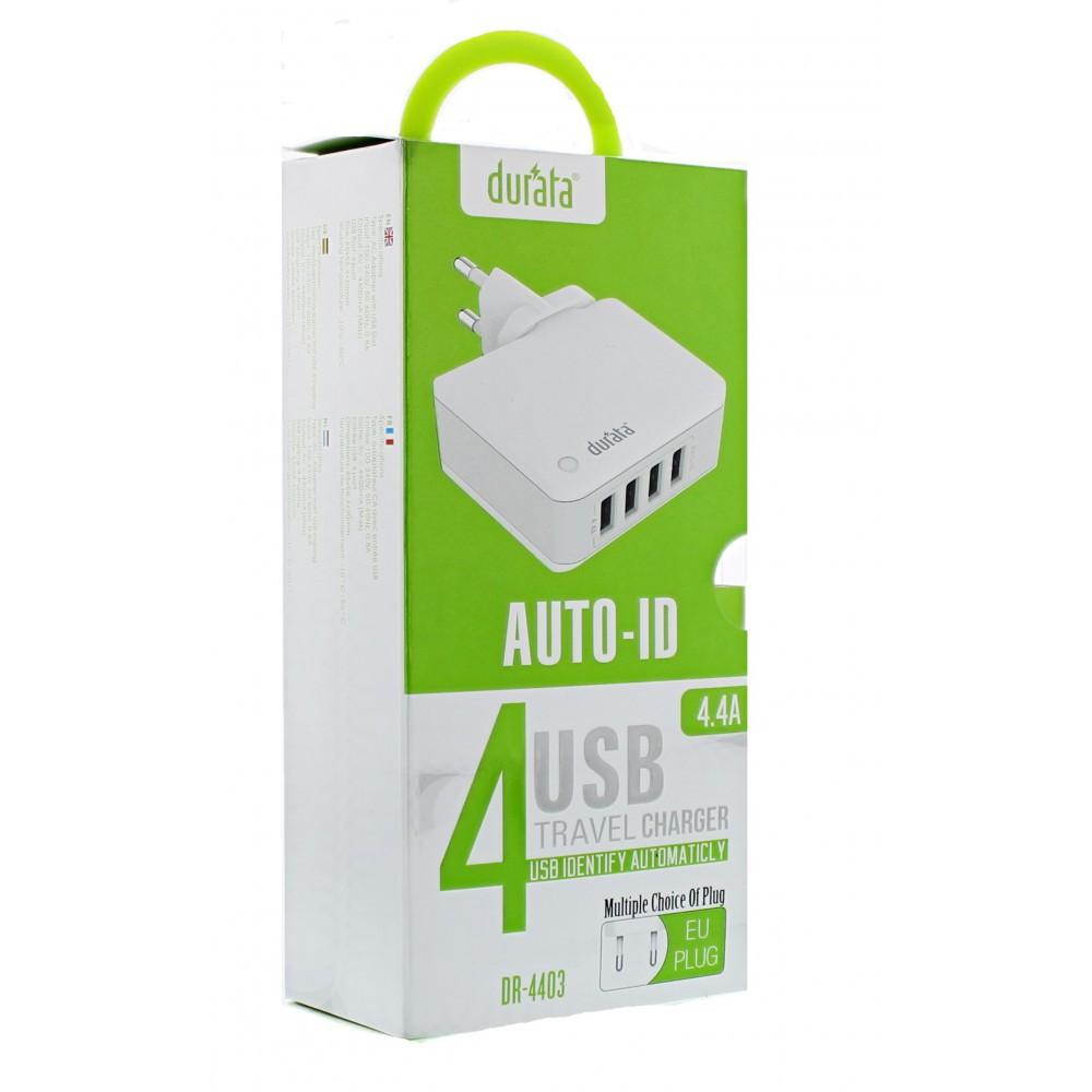 Durata 4-Port USB Hub