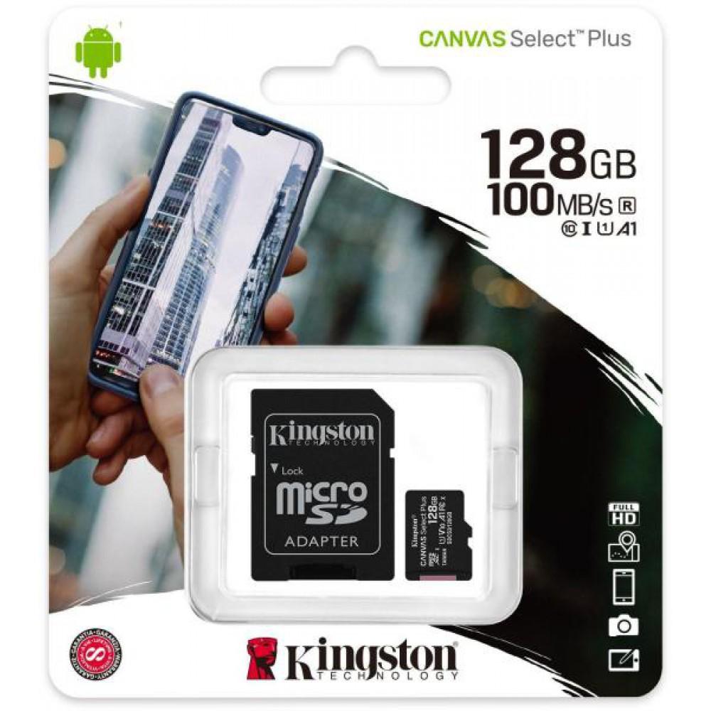 Kingston 128GB Micro-SD Kaart