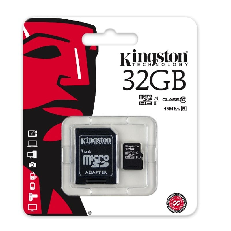Kingston 32GB Micro-SD Kaart