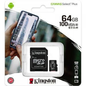 Kingston 64GB Micro-SD Kaart